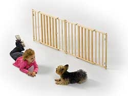 Wood And Baluster Pet Gate 24in