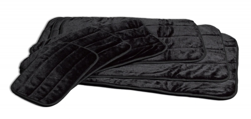 Deluxe Pet Mat Black 48in