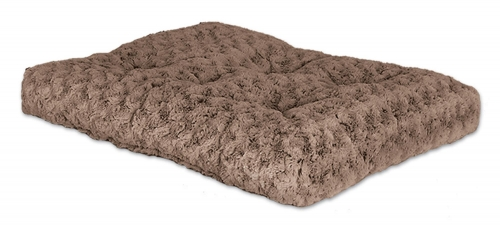 Quiet Time Deluxe Pet Bed Ombre Swirl Taupe Mocha 24in