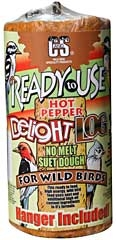 C&s Suet Dough Hot Pepper Log Rtu 2 Lb