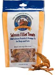 Grizzly Salmon Fillet Treats For Dogs & Cats 3oz