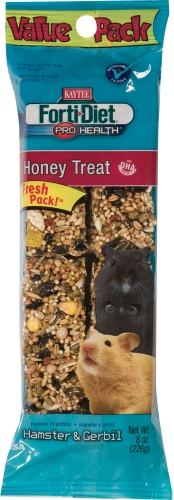 Forti-diet Honey Hamster/gerbil Treat 8oz
