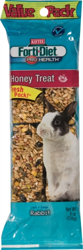 Forti-diet Honey Rabbit Treat 8oz