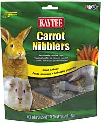 Nibblers Carrot Treat 5oz