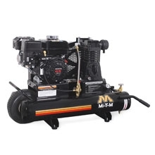 Mi-T-M Corp 13.1 CFM @ 100 PSI 8 Gal Wheelbarrow Compressor