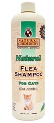 Natural Chemistry Natural Flea Shampoo For Cats 16oz