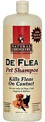 Natural Chemistry De Flea Pet Shampoo For Cats 33.8oz