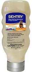 Sentry Oatmeal Flea & Tick Shampoo For Dogs
