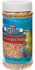 Kaytee Forti-diet Pro Health Oat Groats Treat All Bird 11oz