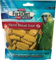 Kaytee Forti-diet Pro Health Parrot Biscuit Treat 10oz