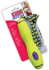 Kong Air Dog Tennis Fetch Toy With Rope Medium