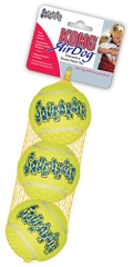 Kong Air Dog Squeakair Tennis Fetch Toy Large