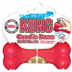 Kong Goodie Bone Treat Dispenser For Dogs Small