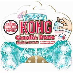 Kong Goodie Bone Treat Dispenser For Puppy Small