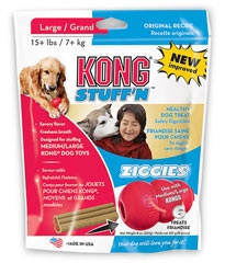 Kong Stuff'n Ziggies Dog Treats Large