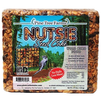 Pine Tree Farms Nutsie Seed Cake 2.75lb