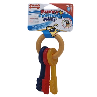 Nylabone Puppy Teething Keys X-small