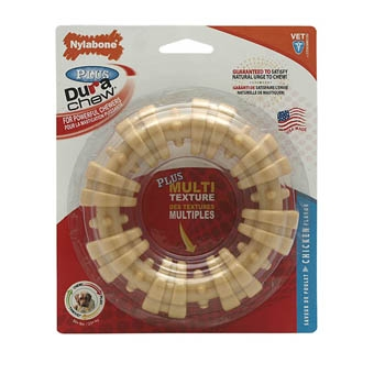 Nylabone Dura Chew Plus Ring Chicken Flavor Large