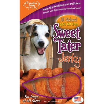Carolina Prime Sweet Tater Jerky For Dogs 5oz
