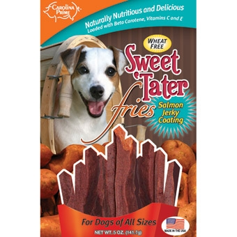 Carolina Prime Sweet Tater Fries For Dogs 5oz