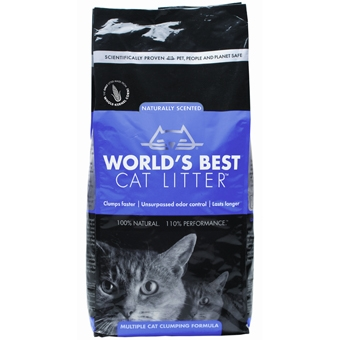 Worlds Best Cat Litter Multi Cat Scented 7lb