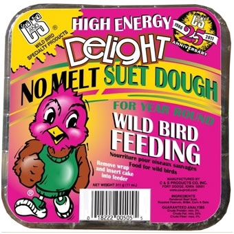 C & S High Energy Delight Suet Dough 11oz