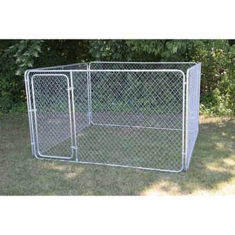 Stephens Pipe & Steel Kennel Complete 10ft X 10ft X 6ft Bronze
