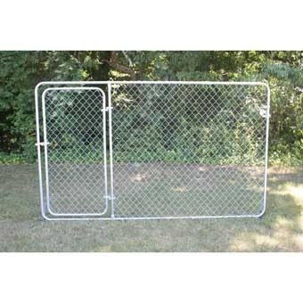 Stephens Pipe & Steel Kennel Gate Panel 10ft X 6ft Bronze