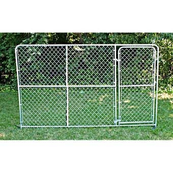 Stephens Pipe & Steel Gate Panel 10ft X 6ft Gold
