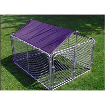 Stephens Pipe & Steel Solid Kennel Roof & Frame 10ft X 10ft