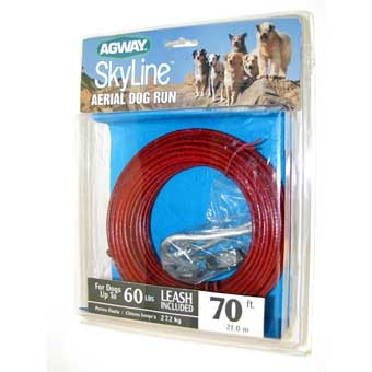 Agway Skyline Aerial Dog Run For Dogs Up To 60 Lb 70ft