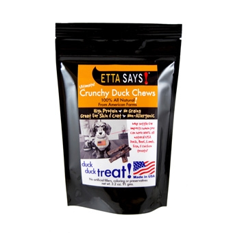 Etta Says! Ultimate Crunchy Duck Chews 4.5 Oz