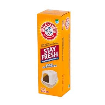 Arm & Hammer Jumbo Drawstring Liners Clear 8 Ct