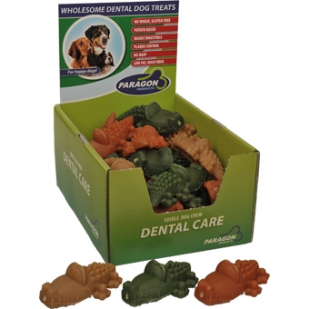 Paragon Dental Dog Treats Large Alligator