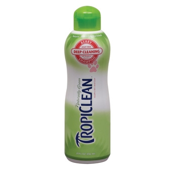 Tropiclean Deep Cleaning Berry Shampoo 20oz