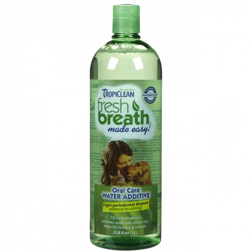 Tropiclean Fresh Breath Oral Care Water Additive 33.8oz