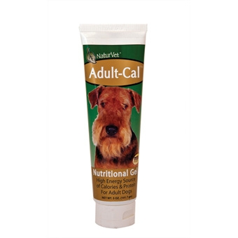 Naturvet Adult-cal Nutritional Gel For Adult Dogs 5oz