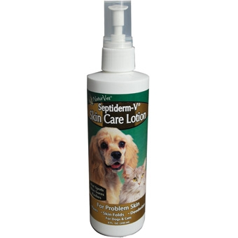 Naturvet Septiderm-v Skin Care Lotion 8oz