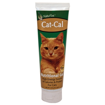 Naturvet Cat-cal Nutritional Gel For Cats 5oz