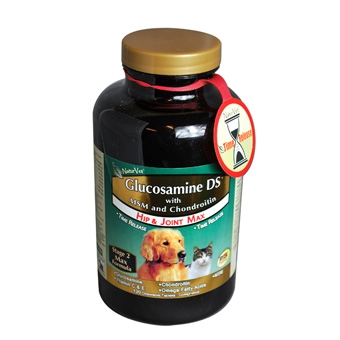 Naturvet Glucosamine Ds With Msm & Chondroitin Hip & Joint Max 120ct