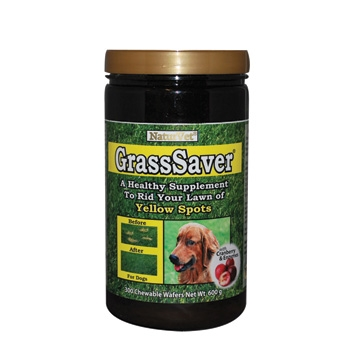 Naturvet Grasssaver Chewable Wafers For Dogs 300ct