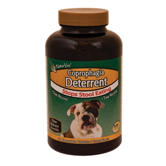 Naturvet Coprophagia Deterrent - Stops Stool Eating - Chewable Tablets 60ct