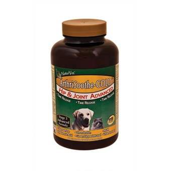 Naturvet Arthrisoothe-gold Hip & Joint Advanced Chewable Tablets 40ct