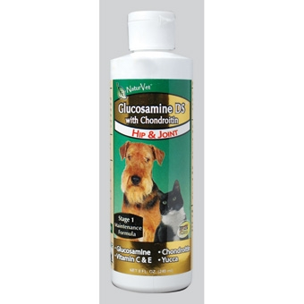 Naturvet Glucosamine-ds With Chondroitin - Hip & Joint 8oz