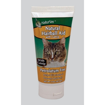 Naturvet Natural Hairball Aid With Catnip 3oz