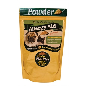 Naturvet Naturals Allergy Aid Powder 60 Day Supply 9oz