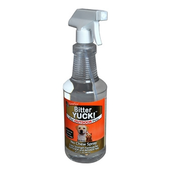 Naturvet Bitter Yuck! No Chew Spray For Outdoor Pets 32oz