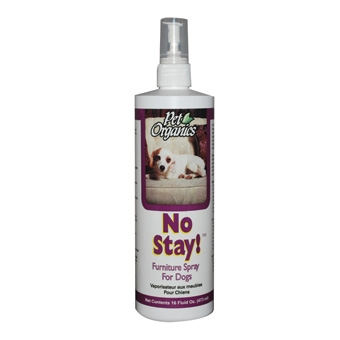 Pet Organics No Stay! Furniture Spray For Dogs 16oz