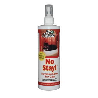 Pet Organics No Stay! Furniture Spray For Cats 16oz