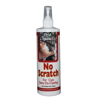 Pet Organics No Scratch For Cats 16oz